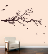 Large Tree Branch with Birds - Size