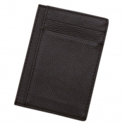 Gemini_mall® Men Slim Credit Card Holder PU Leather Wallet Pocket Money Bag Purse