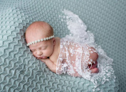Newborn Infant Baby Photography Wrap Shooting Prop triangle lace embroidered flower studio photographic props