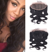 Free Part Ear to Ear Closure Body Wave Virgin Brazilian Hair 100% Density 13x 4 Lace Closure Natural Hair Colour Soft and Silky