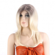 Female Synthetic Hair Long Straight Hair Wig 2324
