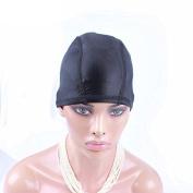 CARA 5PCS/Lot Glueless Hair Net Wig Liner Cheap Wig Caps For Making Wigs Spandex Net Elastic Dome Wig Cap