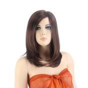 NAWOMI Female Synthetic Wig Medium-Length Hair2326
