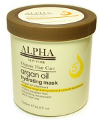 HAIR REPAIR ARGAN OIL HYDRATING MASK BY ALPHA NEW YORK 1000 ml. / 33.8 fl. oz.