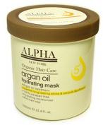 HAIR REPAIR ARGAN OIL HYDRATING MASK BY ALPHA NEW YORK 1000 ml. / 33.8 fl. oz.