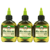 DIFEEL PREMIUM NATURAL HAIR CARE OIL-TEA TREE OIL 3PC