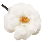 CellElection 2017 Newly Design 3D Simulation Real Flower Camellia Hairpins Bohemia Hairpins One Different Kind of Hair Clips