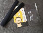 LAUREN STORE, 1 PC Hair Bun Updo Fold, Wrap & Snap Styling Tool, Ponytail Bun Maker Tool