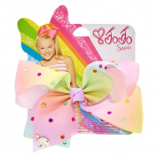 JoJo Siwa JoJo Siwa Small Pastel Rainbow Signature Hair Bow Girls None