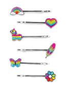 CHARM IT! Rainbow Bobby Pin Party Set