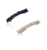 Buyinheart@ Fashion Womens Girls Full Crystal Hair Barrettes , Hair Pin , Hair Clip