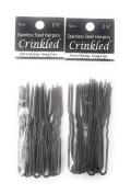 Amish Made Hair Pins - Crinkle, 6.4cm