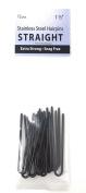 Amish Made Hair Pins - Straight,3.8cm