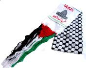 Unisex Palestine Jerusalem Scarf Arabian Shemagh Shawl Desert Tactical Fashion Wrap Palestinian Keffieh Hatta
