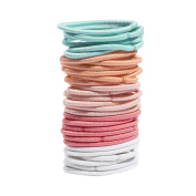 Glamour Style 30 Pcs Elastic Thin No Metal Small Formed Random Colour)