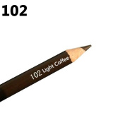 Gemini_mall Waterproof Eyebrow Pencil - Light Coffee