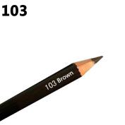 Gemini_mall Waterproof Eyebrow Pencil - Brown