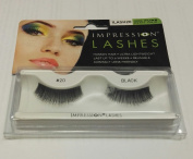 Impression Lashes #20 Black