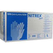 Nitrile Gloves Powder Free Size Large Pack of 200