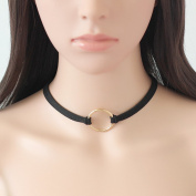 UMS Velvet Gothic Choker Necklaces Single Layer Punk Chokers for Women and Girls