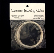 Imagine If...German Jewellery Wire (Real), 20 Gauge 5.9m, SS/40 Half Hard Sterling Fill