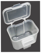 Stow-away Mini Clip-on Plastic Storage Box, For Belt Or Pocket : ( Pack Of 2 Boxes )