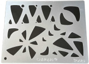 "Cabtopia -- Lapidary Jewellery Design Template Stencil ""Tronka"""