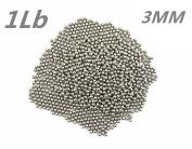 Lieomo 0.5kg 3MM Stainless Steel Tumbling Media Shot Jeweller Circular Tumbler Finishing
