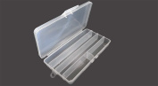 Stow-away 5 Compartment Plastic Storage Box : ( Pack Of 2 Pcs. )