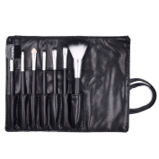 Maange 7 Pieces Makeup brushes Set Powder Eye Shadow Eyeliner Lip Cosmetic Brushes Kit Tools with exquisite packing bag