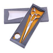 SMITH CHU 18cm Hair Cutting Scissors SUS440C Pet Hair Shears Hairdressing Scissors for Barber