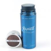 BUNEE Hair Building Fibre 27.5g Medium Brown Colour