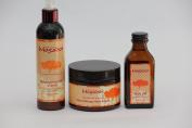 Mogador Argan Oil Set Hair Cream / Hair Oil / Hair Mask