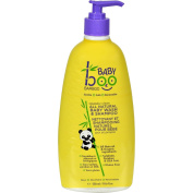 2 Packs of Boo Bamboo Baby Wash And Shampoo - Squeaky Clean - 550ml