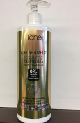 Tahe Soft Shampoo Cleansing Non-Foaming 0% Parabens / Sulphates MACADAMIA AND ARGAN OILS 400 ML