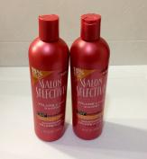 2pck - Salon Selectives Volume & Body Shampoo 480ml
