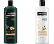 Expert Botanique Curl Hydration Shampoo and Conditioner Set with Shea Butter & Hibiscus (740ml each)