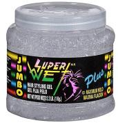 Super Wet Plus Hair Styling Gel, Maximum Hold, Transparent, 1040ml (1kg) per Container