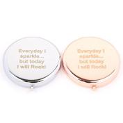 Slogan Compact Mirror - Everyday I Sparkle