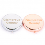 Slogan Compact Mirror - Glamorous Granny
