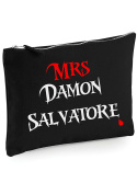Danni Rose Mrs Damon Salvatore Make up bag / clutch bag