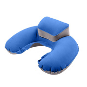 Inflate Travel Pillow for the Aeroplane, Inflate Travel Pillow for Office - Air Pillow Inflatable U Shape Neck Cushion Folding Travel Outdoor Pillow and Sleep Support for Flights Car