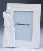 Guardian Angel & Boy Porcelain Photo Picture Frame 8.9cm x 13cm