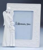 Guardian Angel & Boy Porcelain Photo Picture Frame 8.9cm x 13cm