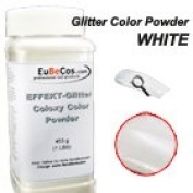 Colaxy Acrylic Colour Powder Effect GP20 White Glitter 470ml