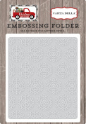 Carta Bella Paper Company CBCD58032 Snowflake #1 Embossing Folder