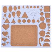 Qingsun Quilling Template Board Paper Quilling Mould Mould Circle Template Board Heart Template Board Quilling Work Board DIY Paper Quilling Handmade Tools