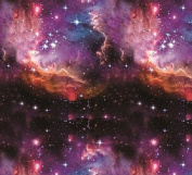 Hydrographic Film - Water Transfer Printing - Hydro Dipping - COSMIC GALAXY - 1 Metre