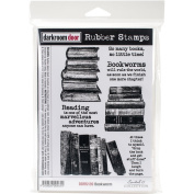 Darkroom Door Cling Stamps 7x5-Bookworm