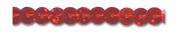 RED HOLOGRAM 0.6cm SCHLANGE SEQUIN 72 Yards